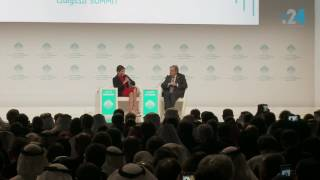 جلسة الحوار (كاملة) مع الأمين العام للأمم المتحدة في القمة العالمية للحكومات