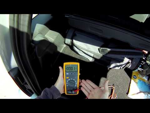 How to Test a Rear Window Defroster Grid With The Fluke 233 - YouTubeYouTube
