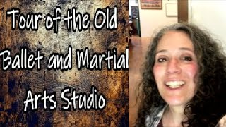 Tour of the Old Ballet and Martial Arts Studio (Our Multi Purpose Room)