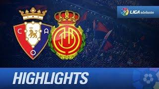 Resumen de Osasuna (6-4) RCD Mallorca - HD