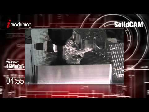 iMachining Turbomode in 16MnCr5