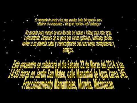 Invitación de Santiago (star wars)