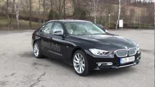 BMW 320d F30 Modern Line TEST drive AutoZine.cz