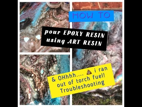 resin art painting how to get  A LOT of cells (1)
