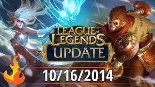 League of Legends Update 10/16/2014 - New Splash Art, Curse Voice, Worlds, and more