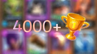 Clash Royale | How To Make Your Way To 4000 🏆 | MinerGang Deck 💪🏻