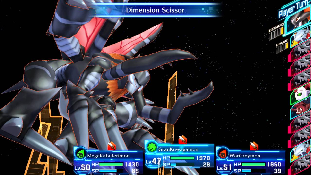 Digimon Story - Cyber Sleuth - Boss: Machinedramon (Hard ...