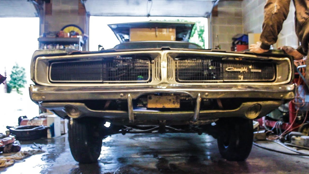 1969 CHARGER BIG BLOCK TEARDOWN!