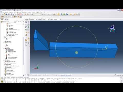 Abaqus Tutorial 10 : Chip Formation Part1: