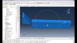 Abaqus Tutorial 10 : Chip Formation Part1