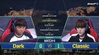 GSL vs THE WORLD 8강 4경기 전체보기 박령우 vs 김도우