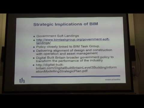 CIBSE West Midlands technical seminar on BIM Legals