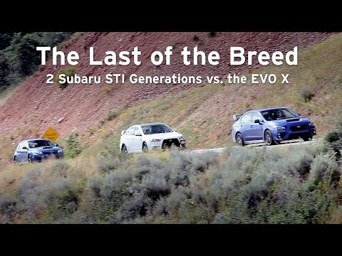 New STI vs EVO X vs Old STI, The Last of the Breed - Everyday Driver