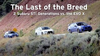 New STI vs EVO X vs Old STI, The Last of the Breed - Everyday Driver