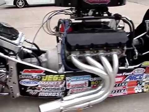 2009 Mullis Swing Arm Dragster Walkaround - YouTube
