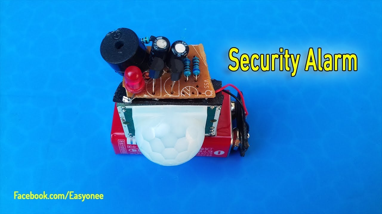 How To Make Easy Home Security Circuit Using Pir Sensor Hc Sr501 Diagram