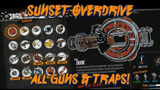 Sunset Overdrive - All Weapons/Guns & Traps - Tutorial Videos (Gameplay) Included