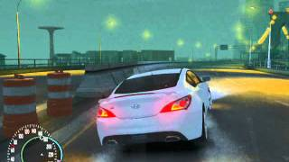 Grand Theft Auto IV Exotic cars MR edition  AR present (Hyundai Genesis coupe)