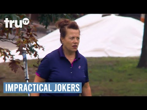 Impractical Jokers - Sals Shank Shots in Golf (Punishment) | truTV