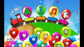 Balloon game - Learning game for kids