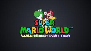 Super Mario World - Cheese Bridge & Butter Bridge Area - Walkthrough Part 4