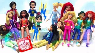 NEW Disney Princess Dolls from Ralph 2 Breaks the Internet Toys Collection