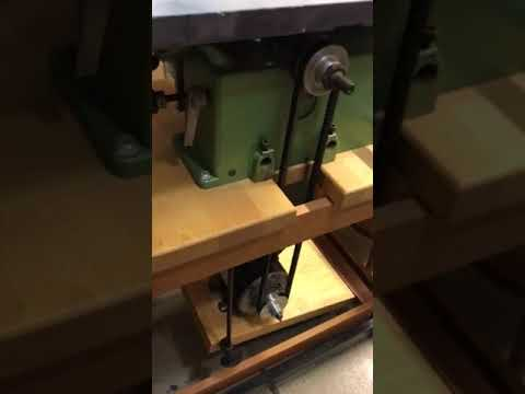 Inca table saw vibration issue