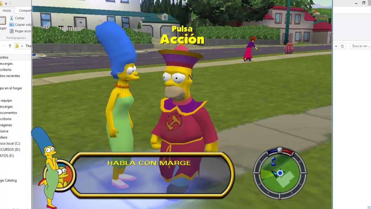 Descargar The Simpsons: Hit & Run [PC] [Español] [Mega ...