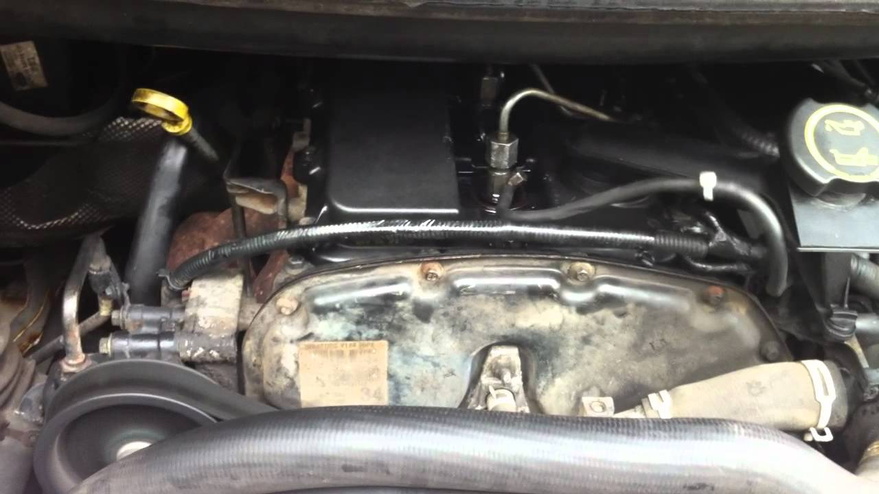 Ford Transit Van 2003 Mk6 Engine Problem? Rattling too much! Faulty Timing Solenoid  YouTube