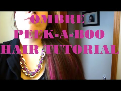 Underlights peek a boo hair tutorial youtube underlights peek a boo hair tutorial solutioingenieria Image collections