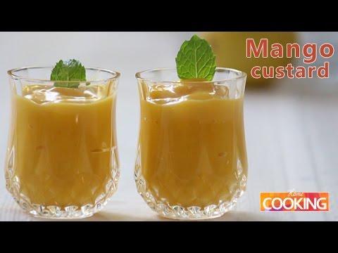 How To: Mango Custard  Ventuno Home Cooking