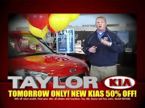 Taylor Kia Commercial