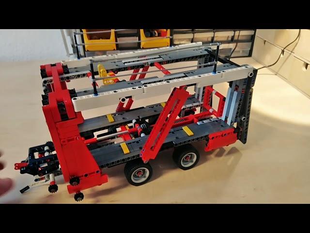 Lego 42098 Car Transporter LED Umbau