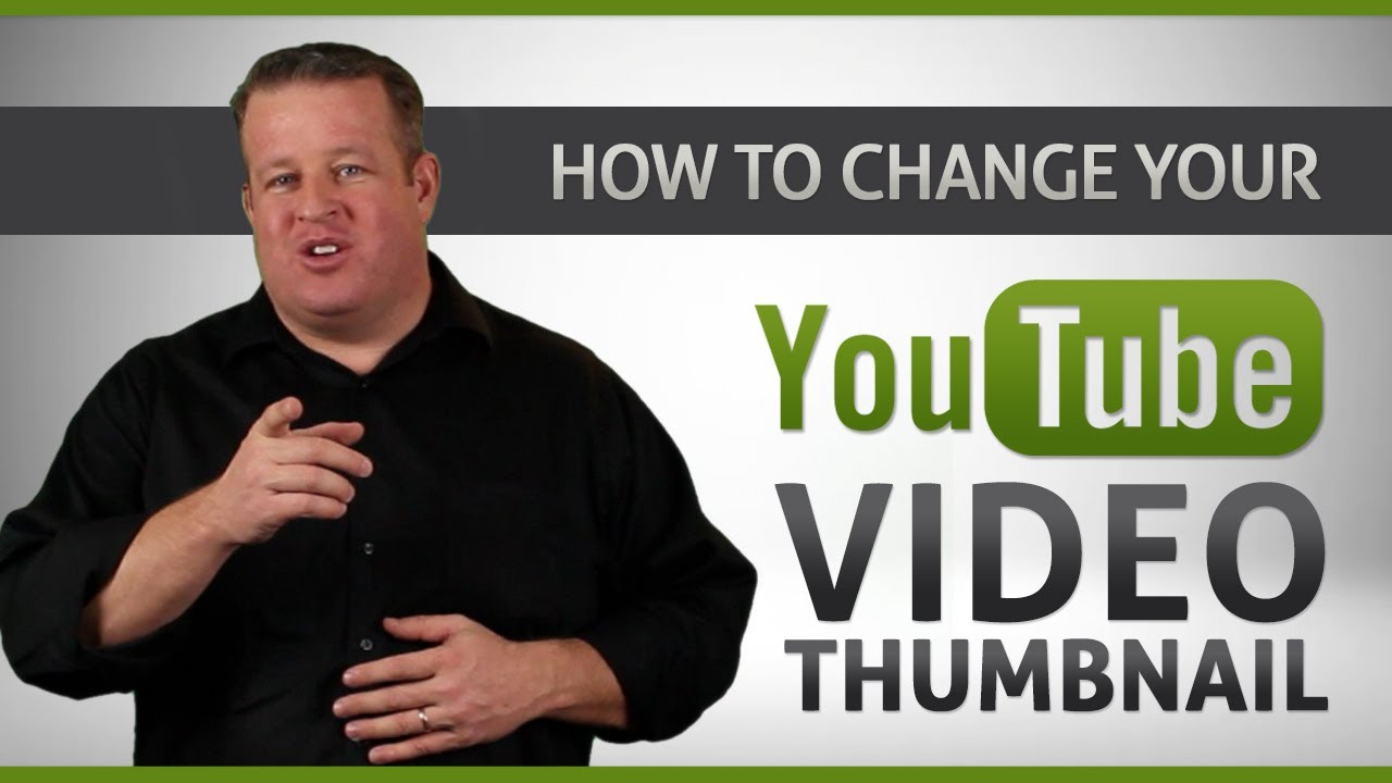 How to Change YouTube Video Custom Thumbnail - Tutorial (No ...