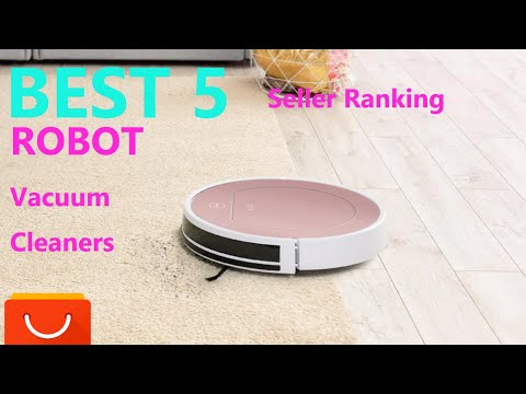 BEST 5 China Budget ROBOT Vacuum Cleaners 2020 Seller Ranking on Aliexpress
