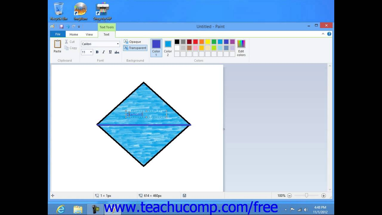 Windows 8 tutorial adding text in paint microsoft training lesson windows 8 tutorial adding text in paint microsoft training lesson 83 baditri Images