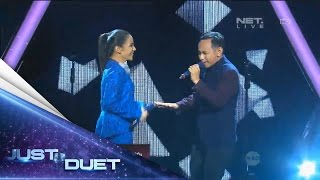 Angel Pieters & Pongki Barata performing 1000 Tahun Lamanya! - Live Duet 08 - Just Duet Mp3