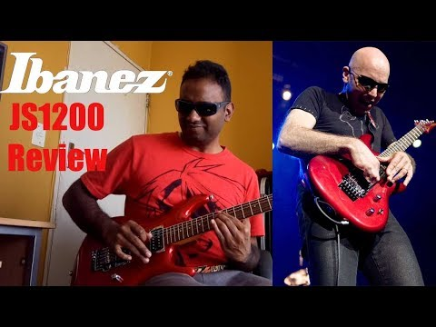Ibanez JS1200 Joe Satriani Guitar Review