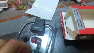 Unboxing Pioneer SE-CL5BT(R) - Español