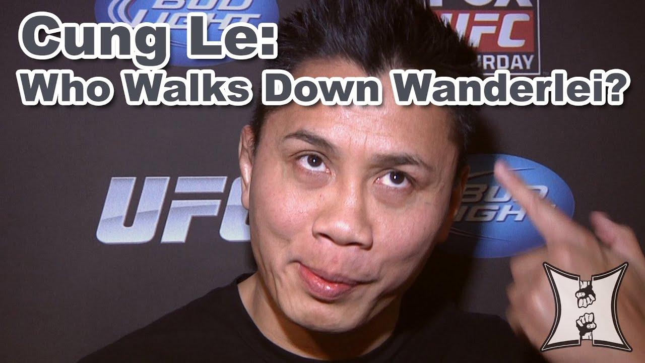 Ufcs Cung Le Who Walks Down Wanderlei Silva Youtube