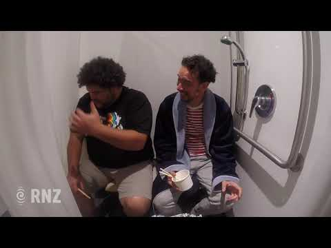 Eating Fried Chicken in the Shower - Beautiful Tongan