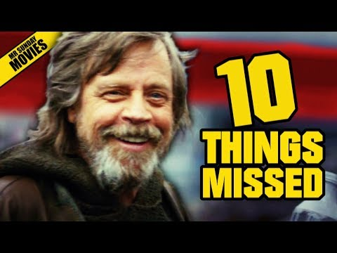Thumbnail: STAR WARS: THE LAST JEDI D23 Trailer - Things Missed & Easter Eggs