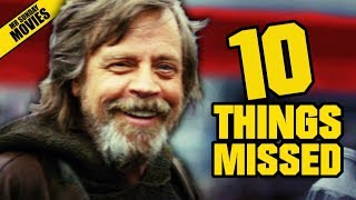 STAR WARS: THE LAST JEDI D23 Trailer - Things Missed & Easter Eggs thumbnail