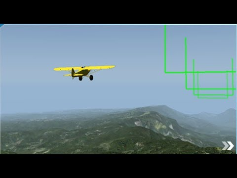 X-Plane 10 | Mountaintop touch and go| Challenges | Android