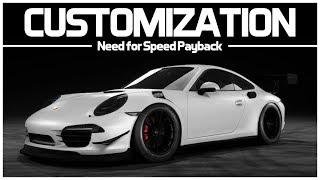 Need for Speed Payback - Preview Customization - Porsche 911 Carrera S (991)