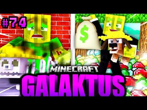 BILLY & FLO werden ZUM MILLIARDÄR?! - Minecraft GALAKTUS #74 [Deutsch/HD]