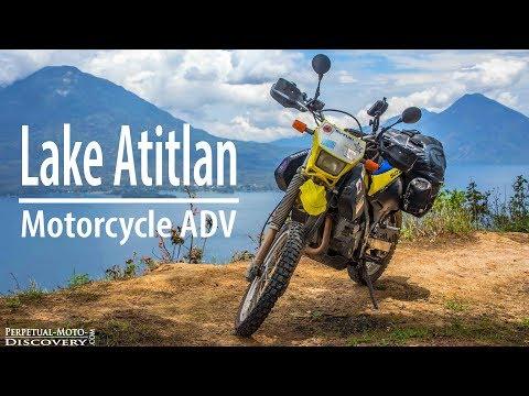 Motorcycle Ride around Lake Atitlan // Guatemala Vlog