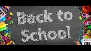 Back to school... Rentrée 2017- 2018...  CP et CE1...