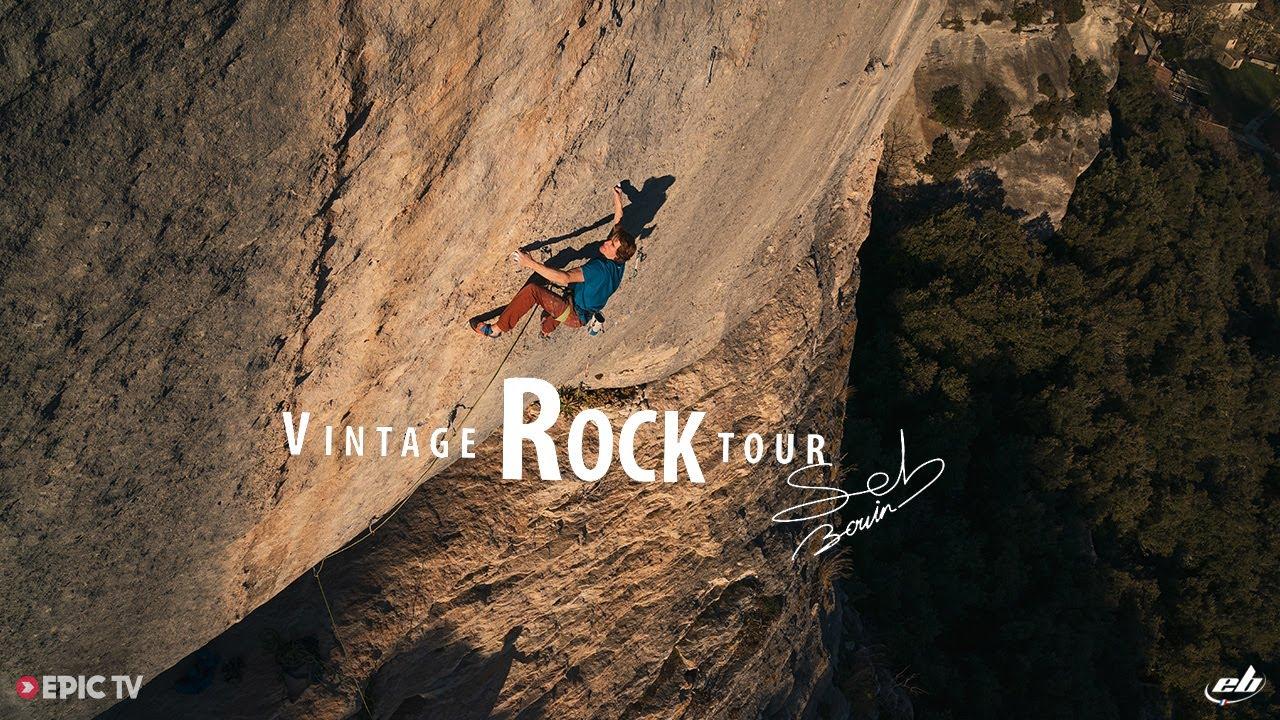 Vintage Rock Tour Ep 1 : Seb Bouin à Buoux !