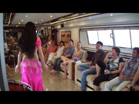 Belly Dance Show In yacht charter dubai